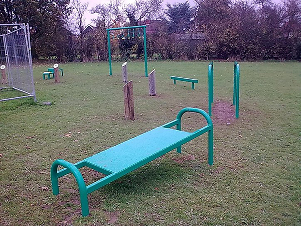 outdoor park fitness equipment